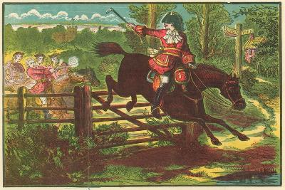 Dick Turpin Defying the Bow Street Runners
