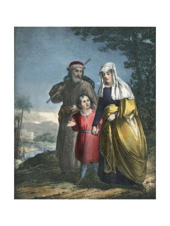 Jesus Returning with His Parents to Nazareth