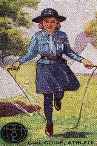 Girl Guide Athlete Badge, 1923