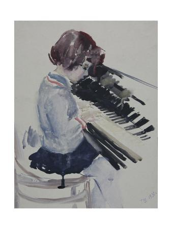 Girl at the Piano, 1936
