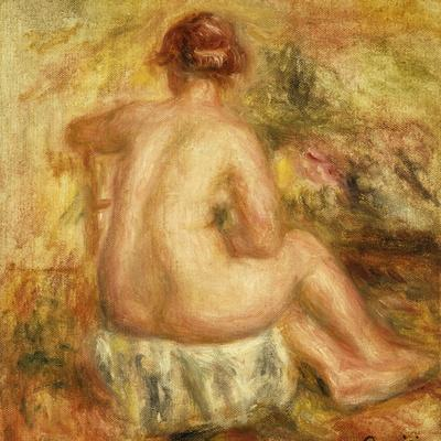 Seated Female Nude, View from Behind; Femme Nue Assise, Vue de Dos, 1917
