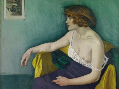Young Woman Seated in Profile, 1914