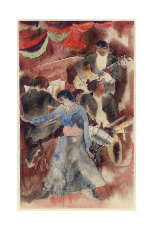 Negro Girl Dancer, 1916