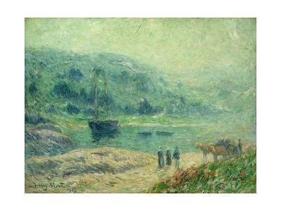 A Cove in Brittany; Crique En Bretagne, 1903
