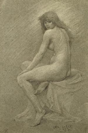 Study for ?Lilith?, c.1900