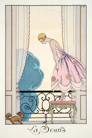 The Mouse, from 'Falbalas and Fanfreluches, Almanach des Modes Présentes, P