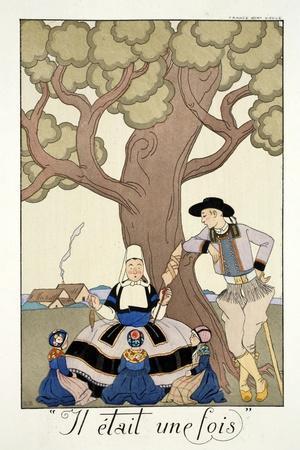 Once Upon a Time, from 'Falbalas and Fanfreluches, Almanach des Modes Présentes, Passées et…