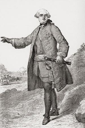 Louis Charles César Le Tellier known as the Duke of Estrées, 1695 ? 1771. French Military…