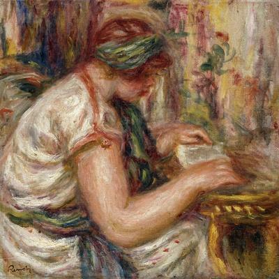 Woman in Arabic Dress Reading; Femme En Blouse Arabe Lisant, 1919