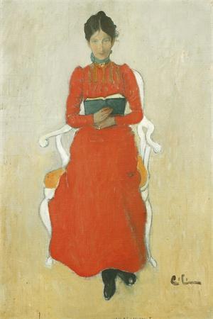 Portrait of Dora Lamm, c.1900