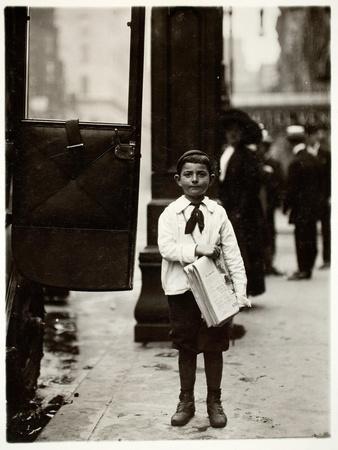 Dominick Carroll, Newsboy, Philadelphia, Pennsylvania, c.1910