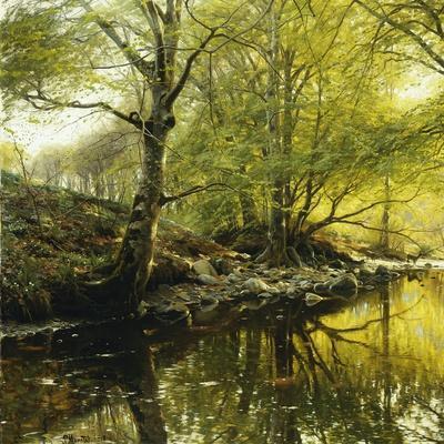 A Wooded River Landscape, 1910