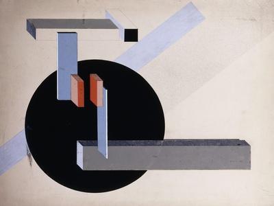 Proun N 89 (Kilmansvaria), c.1925