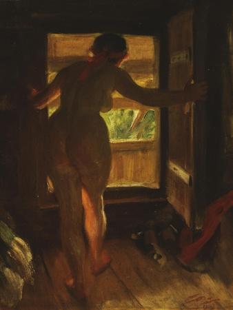 Mora Girl at an Open Door, 1903