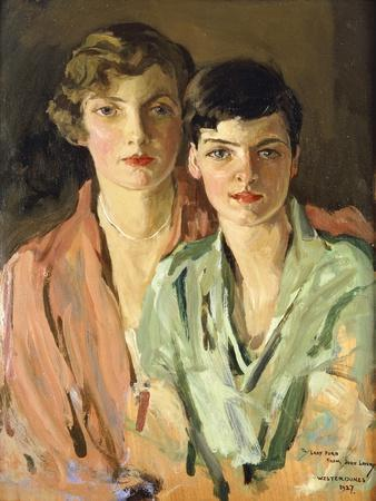 The Sisters, Joan and Marjory, 1927