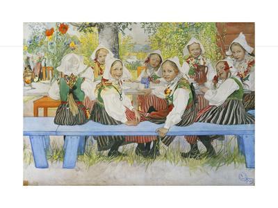 Kersti's Birthday, 1909