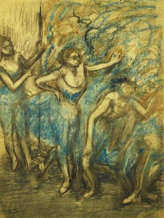 Four Dancers; Quatre Danseuses, 1903