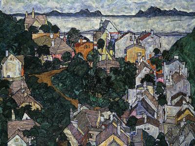 Summer Landscape; Sommerlandschaft, 1917