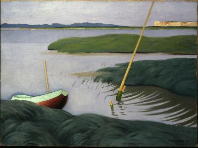 Boat at Berville, 1918