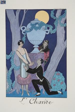 Avarice, from 'Falbalas and Fanfreluches, Almanach des Modes Présentes, Passées et Futures', 1925