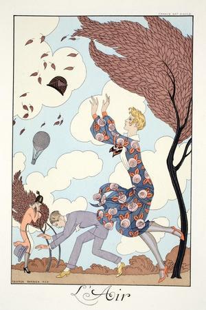 Air, from 'Falbalas and Fanfreluches, Almanach des Modes Présentes, Passées et Futures', 1926