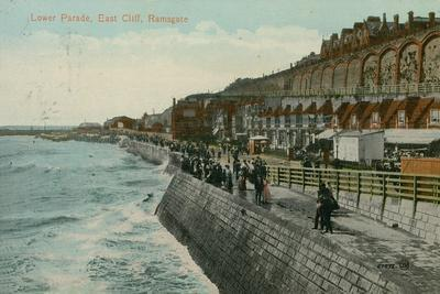 Lower Parade, East Cliff, Ramsgate. Postcard Sent in 1913