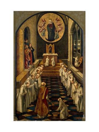The Apparition of the Virgin to a Dominican Community