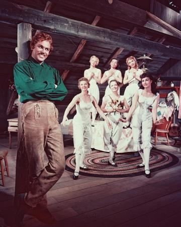 Seven Brides for Seven Brothers, Howard Keel, 1954