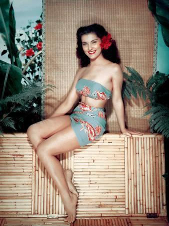 Bird of Paradise 1951 Directed by Delmer Daves Debra Paget