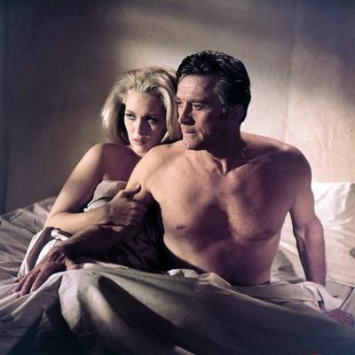 The Arrangement 1969 Directed by Elia Kazan Faye Dunaway and Kirk Douglas