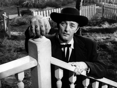 La Nuit Du Chasseur the Night of the Hunter De Charleslaughton Avec Robert Mitchum 1955