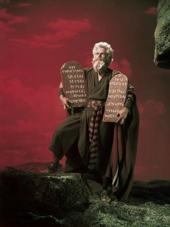 The Ten Commandments 1956 Directed by Cecil B. Demille Charlton Heston