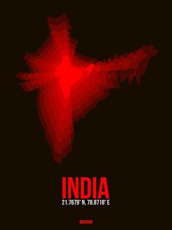 India Radiant Map 4
