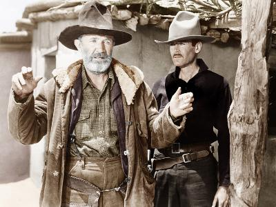 MY DARLING CLEMENTINE, from left: Walter Brennan, Henry Fonda, 1946.