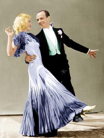 The Gay Divorce, Ginger Rogers, Fred Astaire, 1934