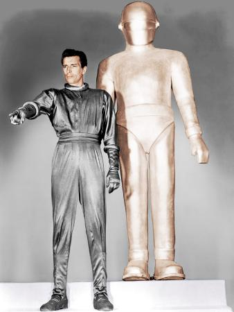 THE DAY THE EARTH STOOD STILL, Michael Rennie, 1951.