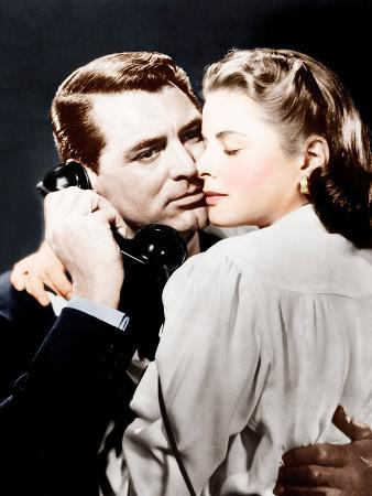 NOTORIOUS, from left: Cary Grant, Ingrid Bergman, 1946