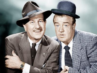 THE ABBOTT AND COSTELLO SHOW, from left: Bud Abbott, Lou Costello, 1952-53
