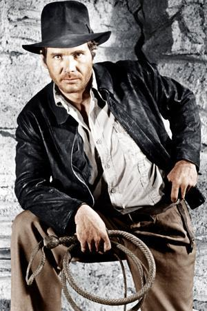Raiders of the Lost Ark, Harrison Ford, 1981. © Paramount/courtesy Everett Collection