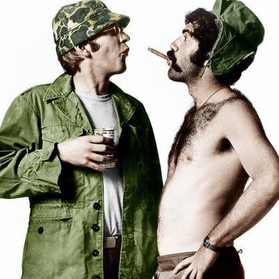 MASH, (aka M*A*S*H), from left: Donald Sutherland, Elliot Gould, 1970.