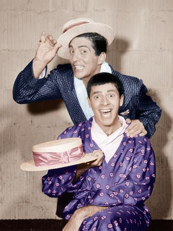 THE COLGATE COMEDY HOUR, from top: Dean Martin, Jerry Lewis, (1955), 1950-55
