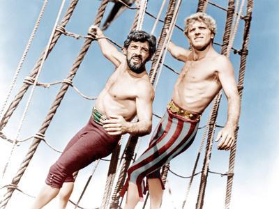 The Crimson Pirate, Nick Cravat, Burt Lancaster, 1952