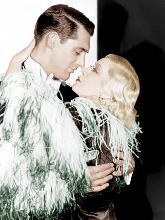 I'M NO ANGEL, from left: Cary Grant, Mae West, 1933
