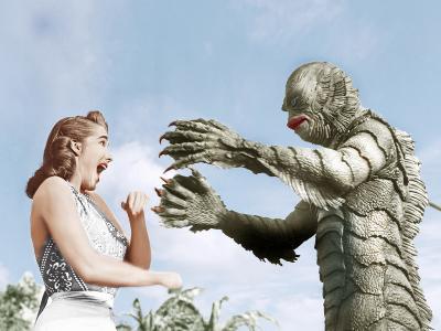 Creature from the Black Lagoon, Julie Adams, Ben Chapman, 1954