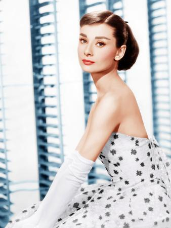 Funny Face, Audrey Hepburn, (in a Givenchy evening gown), 1957