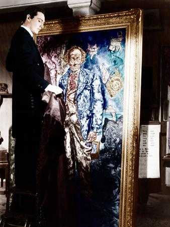 THE PICTURE OF DORIAN GRAY, Hurd Hatfield, 1945