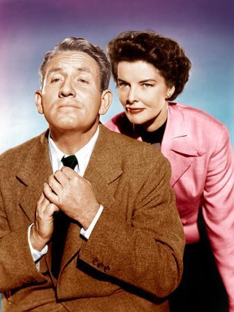 Adam's Rib, Spencer Tracy, Katharine Hepburn, 1949