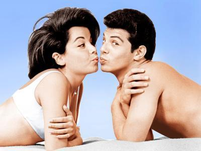 Beach Party, Annette Funicello, Frankie Avalon, 1963