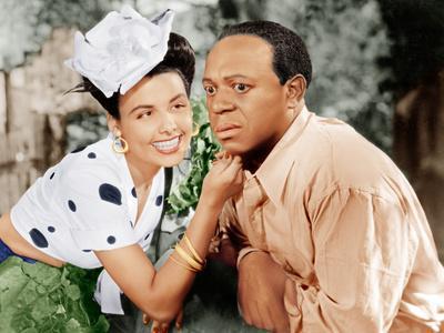 Cabin in The Sky, Lena Horne, Eddie 'Rochester' Anderson, 1943