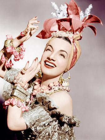 Carmen Miranda, ca. early 1940s